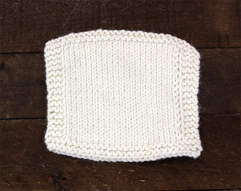 Knit Swatch